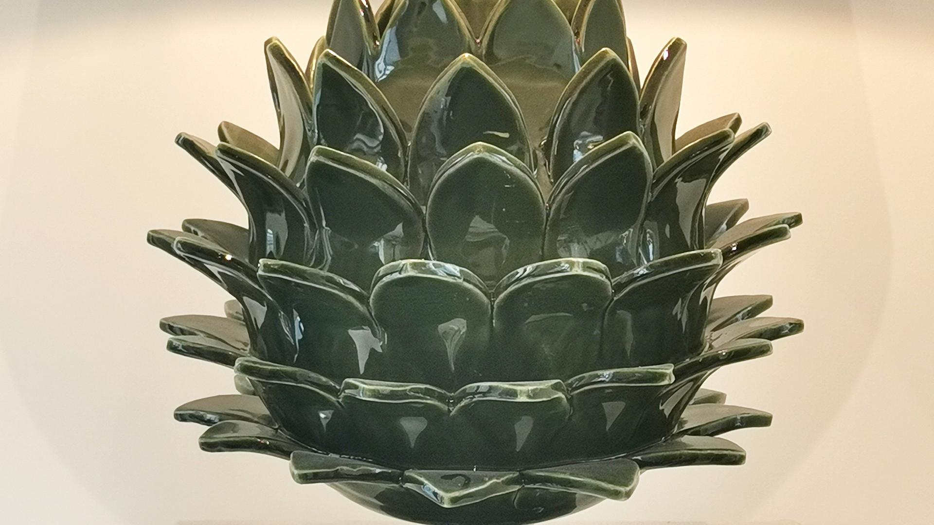Lampe Artichaut Ouvert   30 cm   650 €