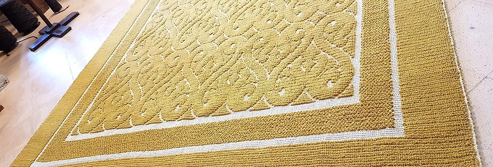 Tapis Baroque | Moutarde | 220x160 cm | 2 875 €