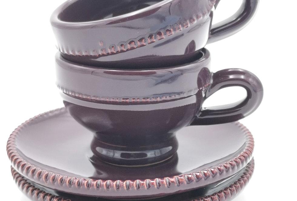 Tasses & soucoupes | Aubergine | à partir de 21 €