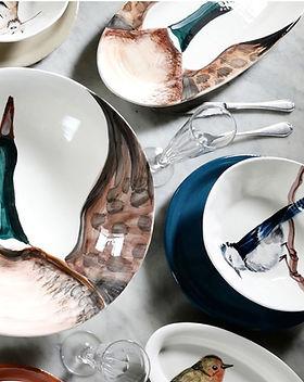 Art de la table | Céramique | Assiettes Fauna | Virginia Casa