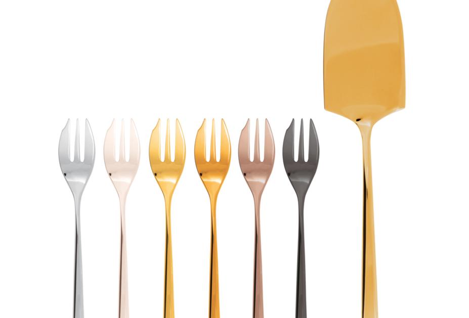 Fourchettes & Spatule à patisserie | Linear | 7 pièces | 124 €