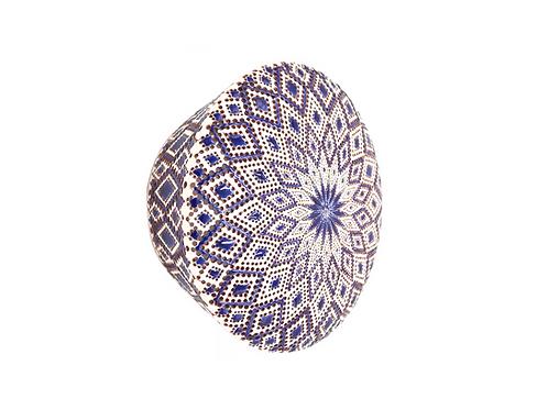 Applique Ronde | Colori di Puglia Bleu nuit | Diamants | à partir de 900 €
