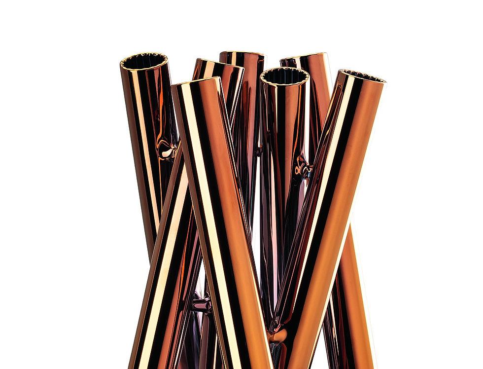 Vase Seven Contour | Cuivre | 21 cm | 149 €