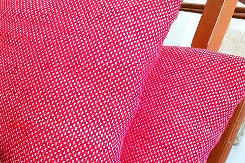 Coussin | 100% cachemire Loro Piana | Rose & rouge | 60X60 cm | 395 €