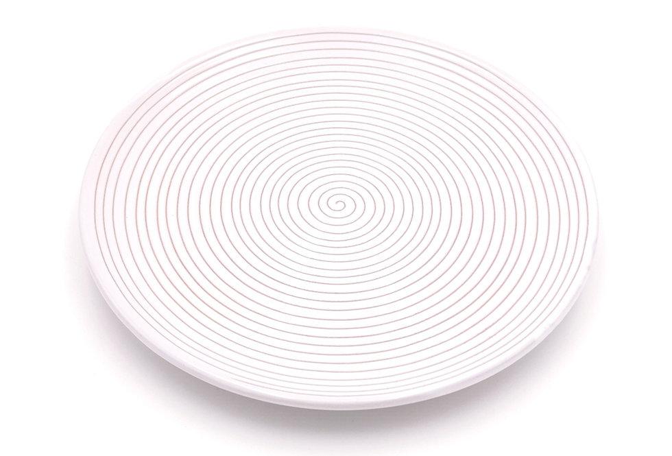 Assiettes plates   Spirale Blanc   à partir de 18 €