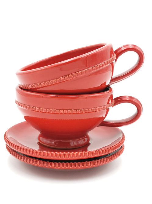 Tasses & soucoupes | Rouge | à partir de 23 €