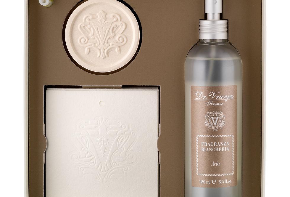 Coffret linge de maison   Magnolia Orchidea   63 €