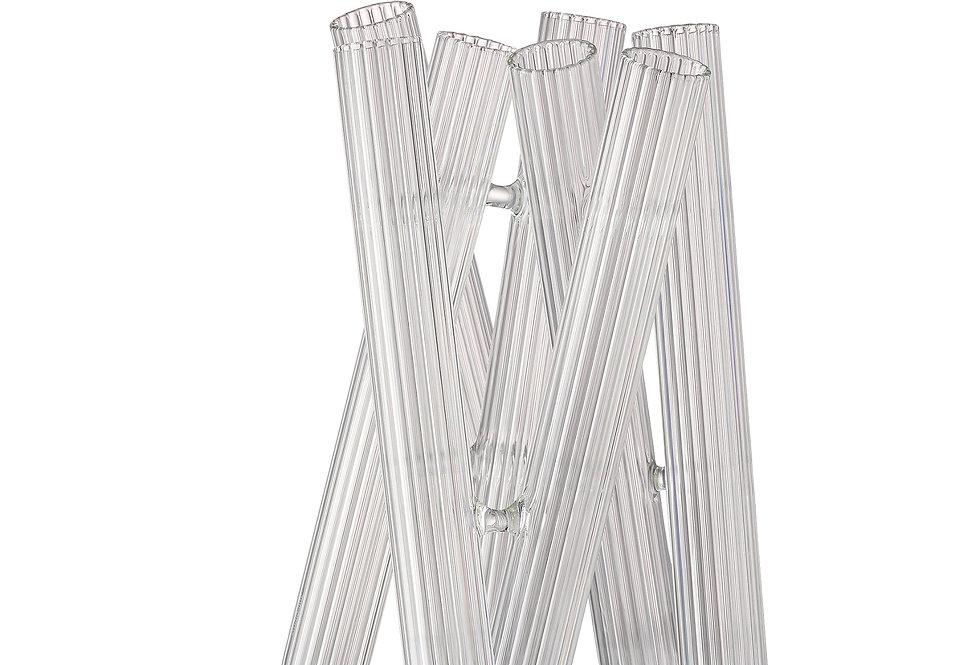 Vase Seven Contour | Transparent | 21 cm | 129 €