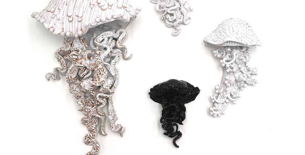 Méduses Murales | Noir & Blanc | à partir de 150 €