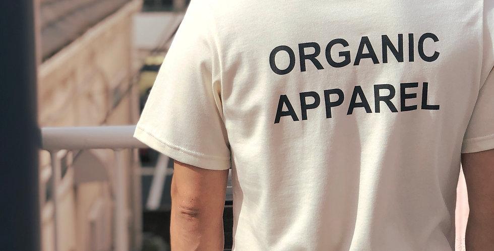 M/L バックロゴプリントtシャツ