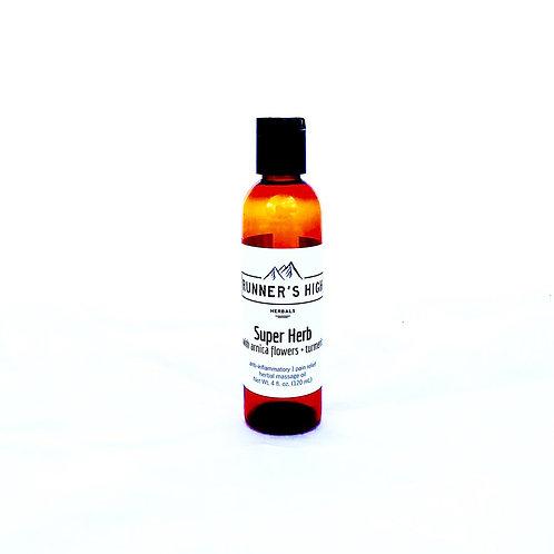 Runner's High Super Herb Massage Oil