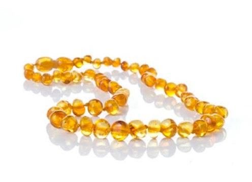 Honey Baltic Amber Teething Necklace