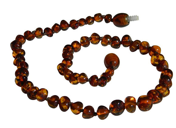 Butterscotch Baltic Amber Teething Necklace