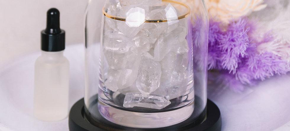 Clear Quartz Crystal Diffuser