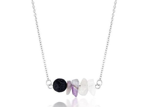 Amethyst Diffuser Necklace