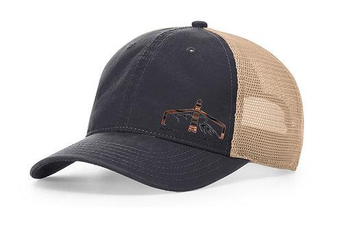 Navy & Khaki TRUCKER HAT