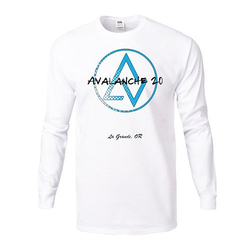 AVALANCHE Long Sleeve Black and White