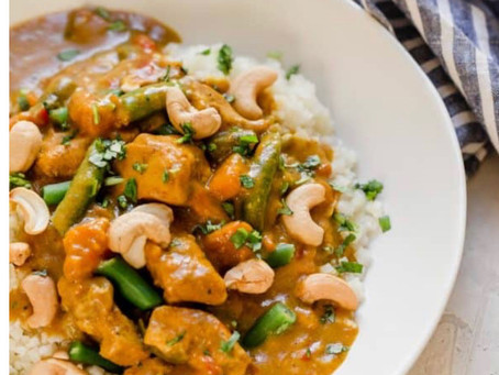 Fragrant (Slow Cooker) Chicken Curry