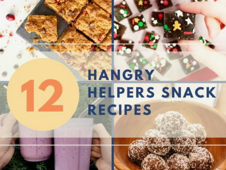 12 Hangry Helpers Snack Recipes