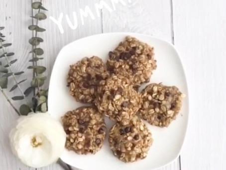 4-Ingredient Breakfast Cookies