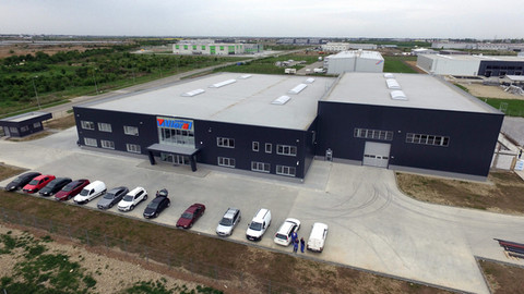Our new production site in Romania is ready!