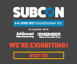 We are Excibiting - SUBCON - Birmingham 6-8 June