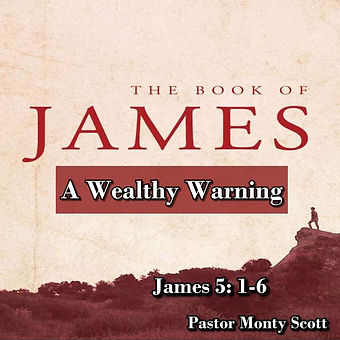 Sept 27, 2020 - A Wealthy Warning - Jame