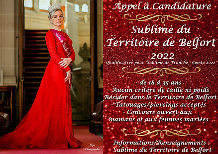 Appel a candidatures Territoire de Belfo