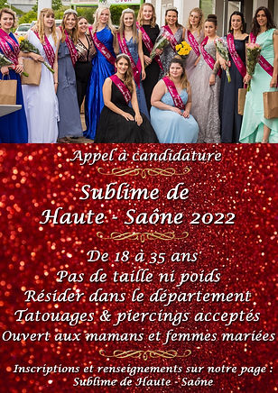 Appel a candidatures Haute Saone 2022 (1
