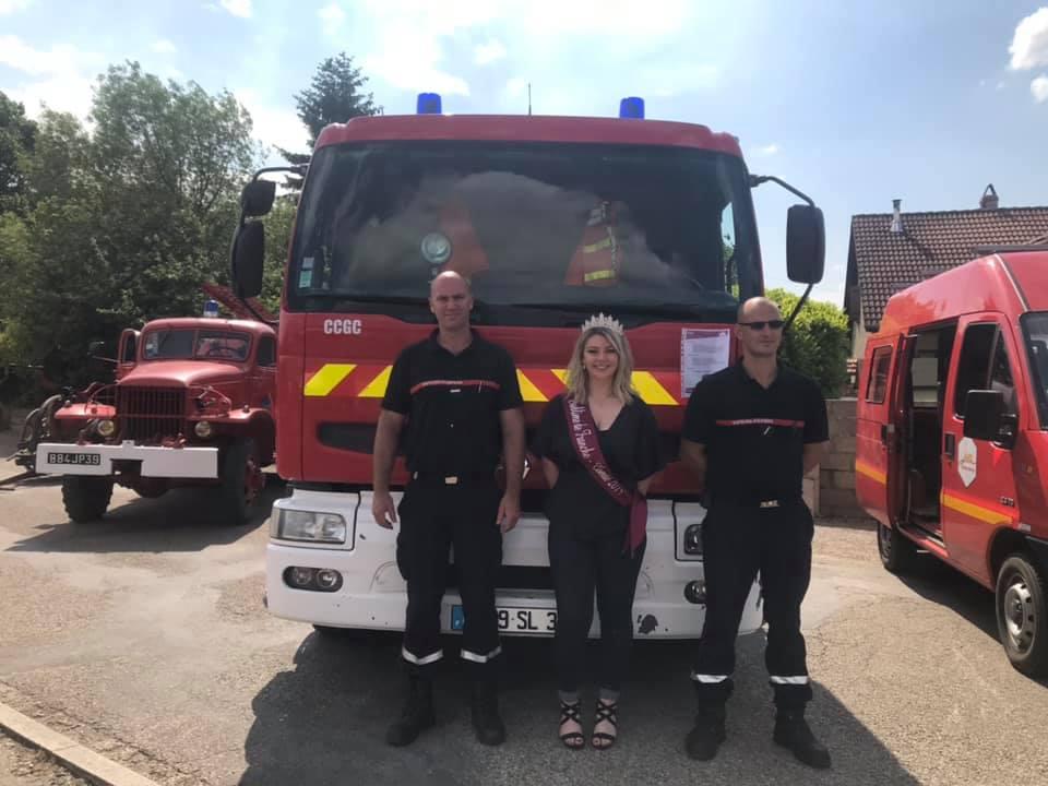 Rencontre avec les pompiers