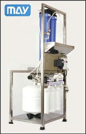 เครื่องผลิตน้ำกลั่นบริสุทธิ์ DI Water รุ่น RO / MB 50 GPD