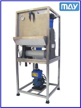 เครื่องผลิตน้ำกลั่นบริสุทธิ์ DI Water รุ่น MERLIN RO / MB 720GPD