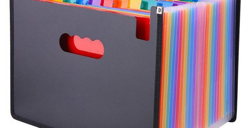 24 Pockets Expanding File Folder