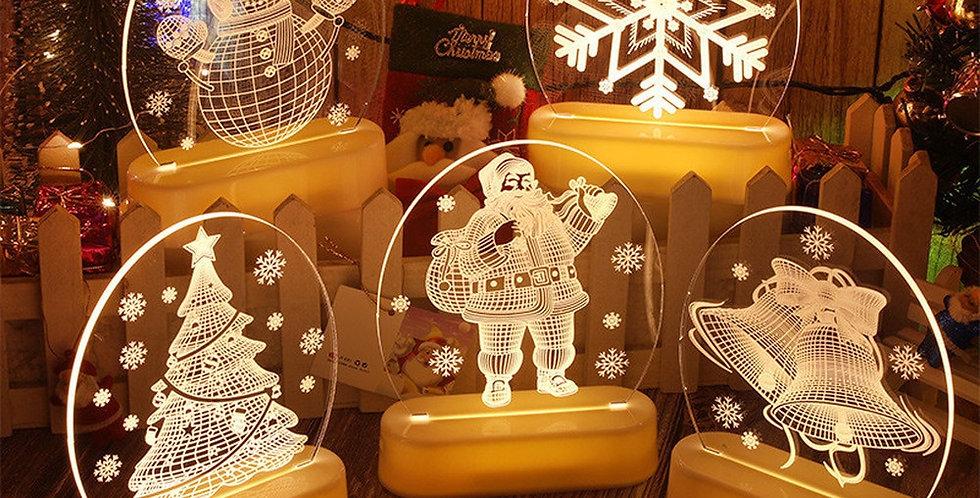 3D LED Light Christmas