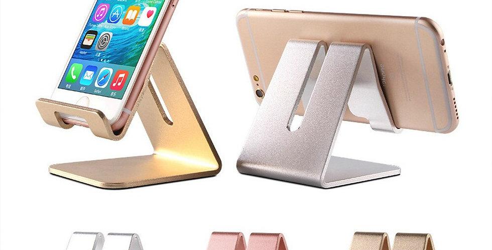 Golden Desk Phone Holder