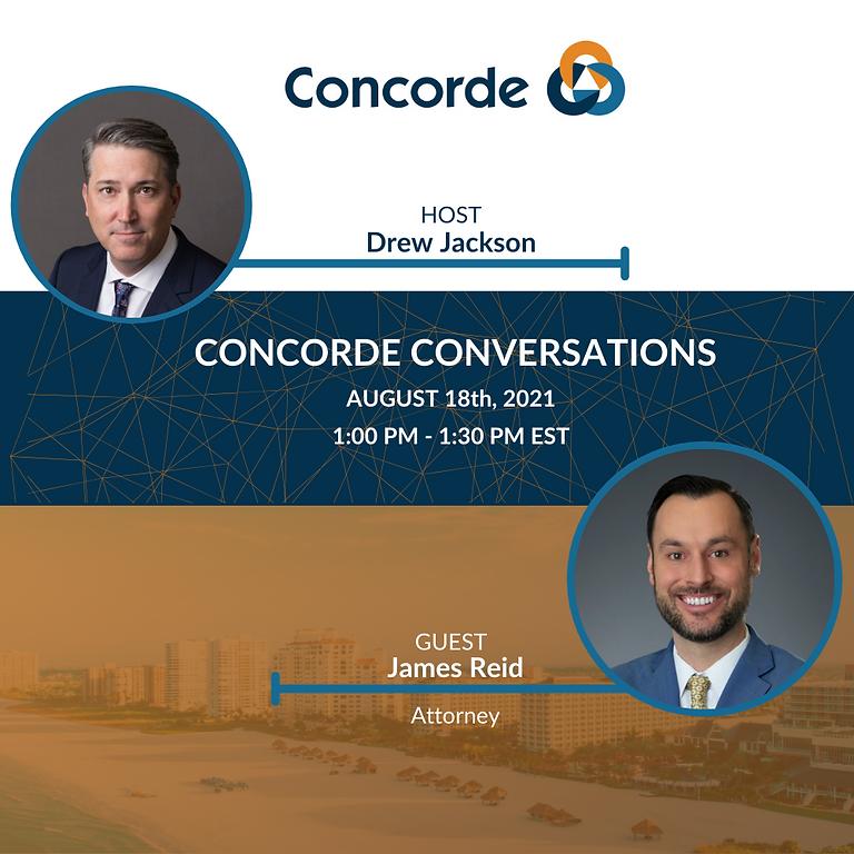 Concorde Conversations Ep. #108 - James Reid