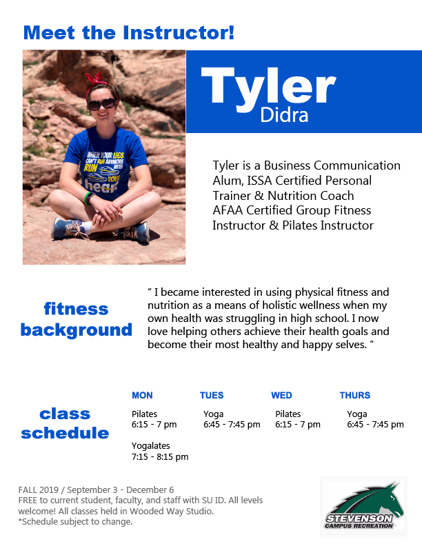 Fitness Instructor Tyler