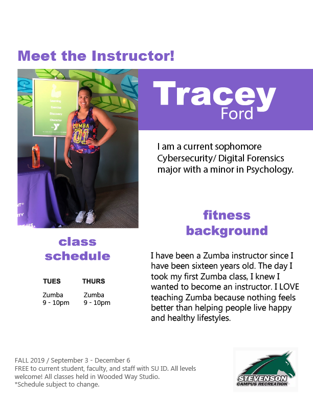 Fitness Instructor Tracey