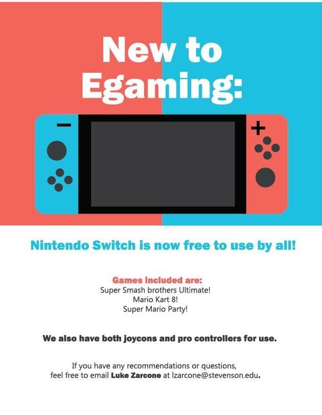eGaming Room Nintendo Switch