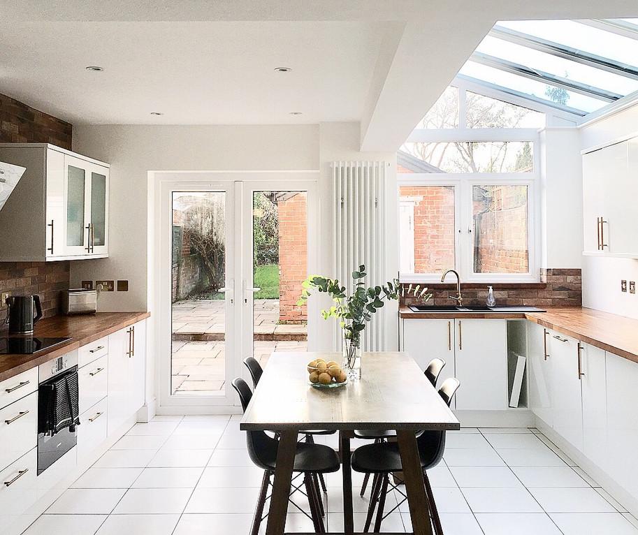 Winchester refurbishment kitchen
