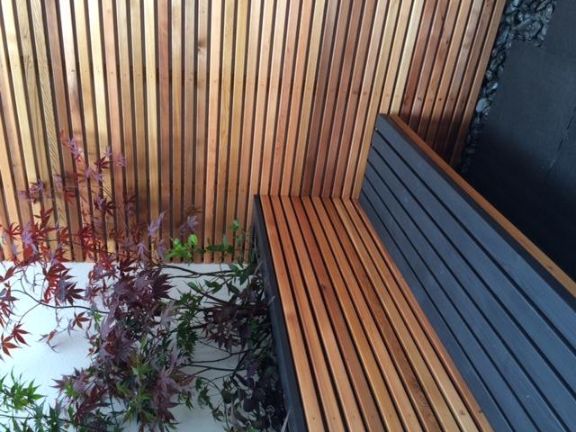 City garden bespoke seating