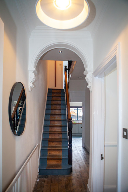 Period House hallway