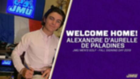 Alex d'Aurelle JMU