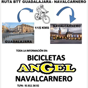 Ruta Guadalajara-Navalcarnero 2020 (PROXIMAMENTE)