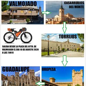 Camino Real de Guadalupe en 2 etápas