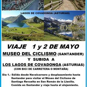 Visita Museo del Ciclismo Santiago Revuelta (Santander) y subida a Los Lagos de Covadonga (Asturias)