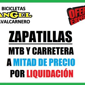 Zapatillas MTB y Carretera a MITAD DE PRECIO