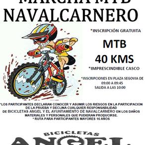 Marcha MTB fiestas de Navalcarnero 2014