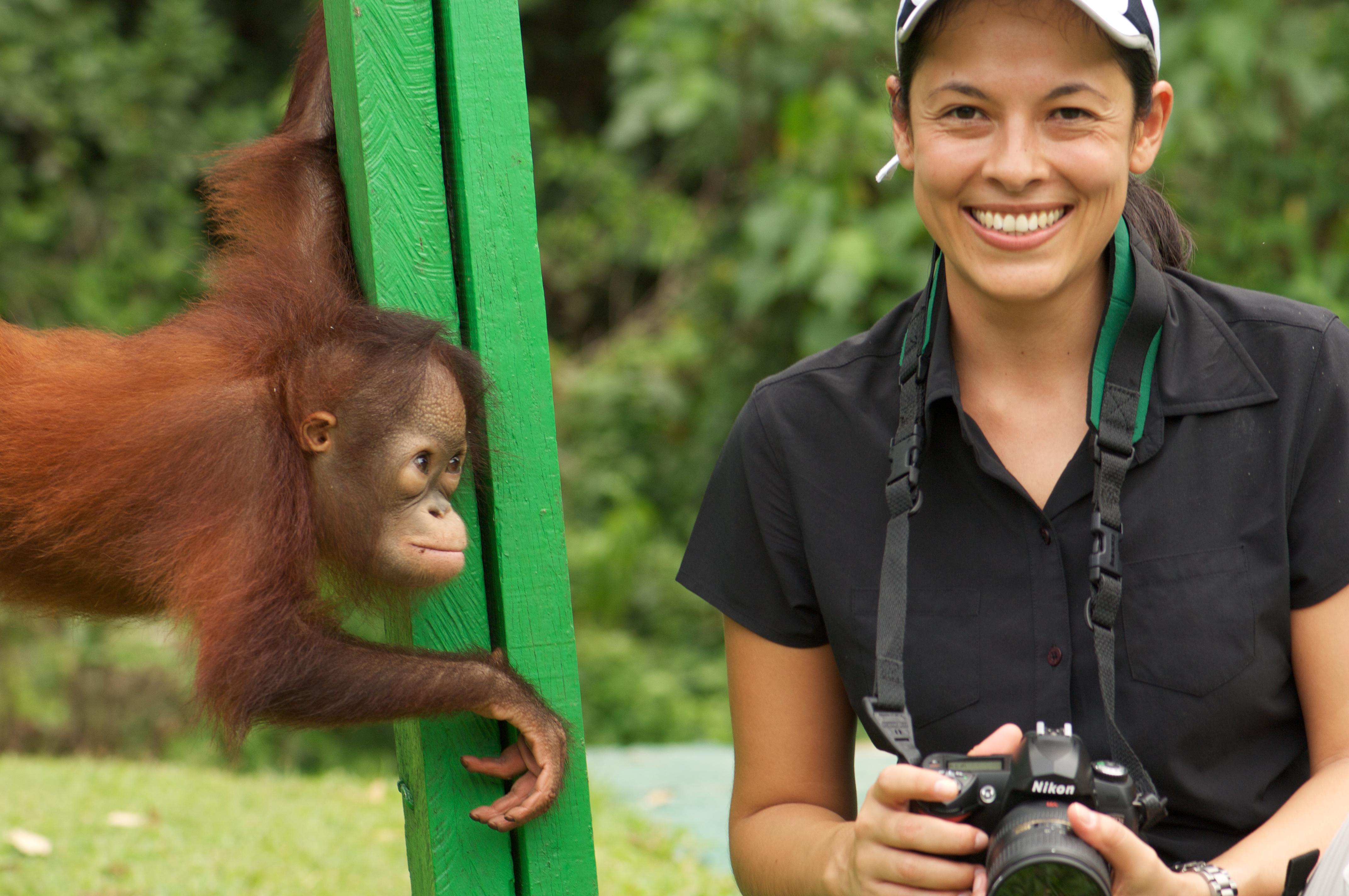 LT & baby ape