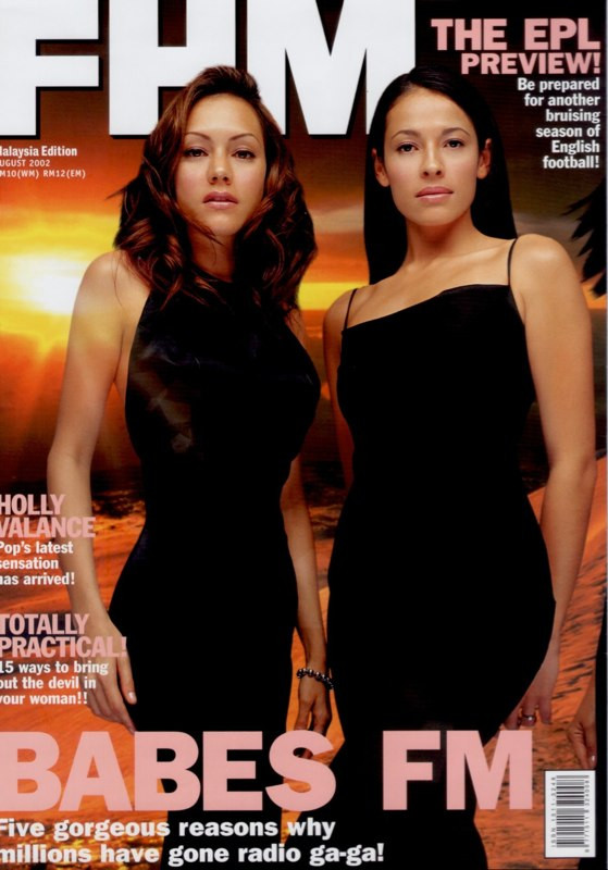 FHM Cover 2002